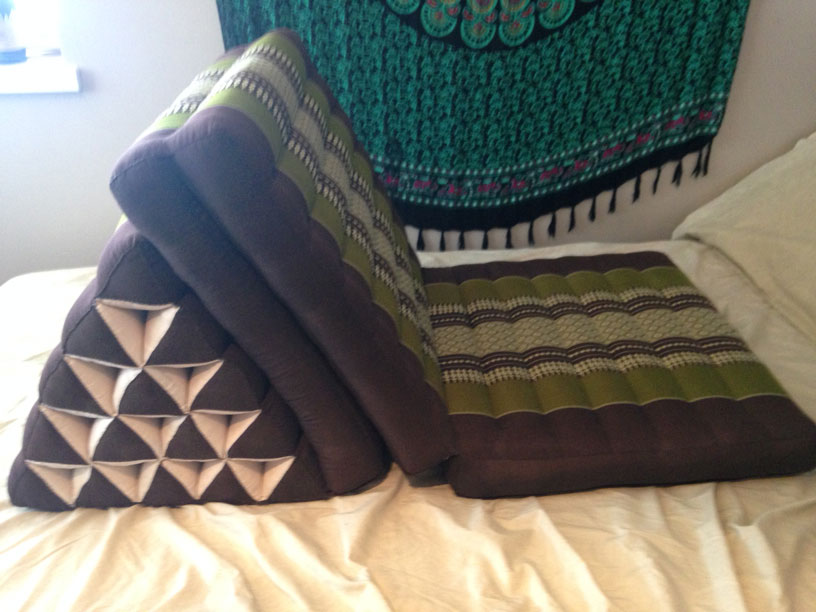Thai Triangle Cushions Are Awesome